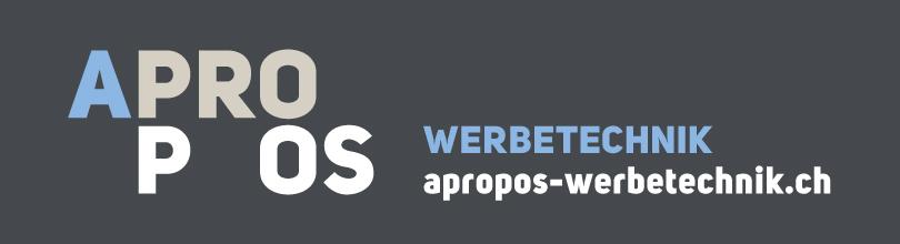 Logo Apropos Werbetechnik